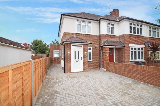 Thumbnail End terrace house for sale in Clayton Road, Isleworth