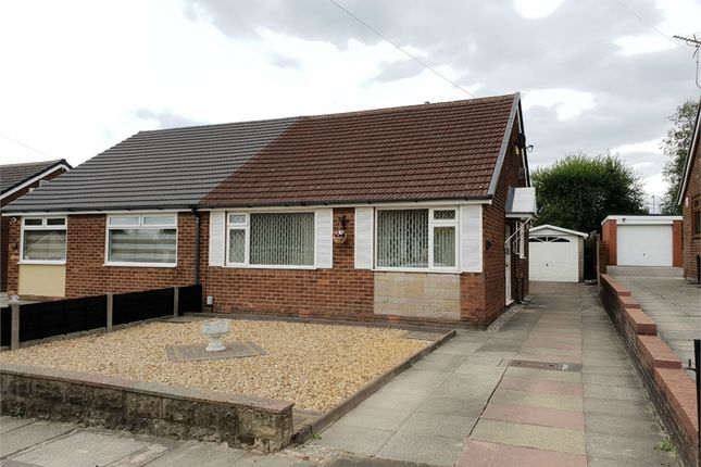 Thumbnail Semi-detached bungalow to rent in Sunningdale Avenue, Radcliffe, Manchester