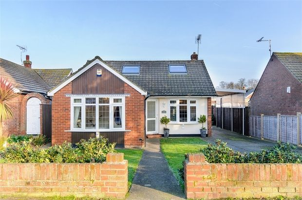 Thumbnail Detached bungalow for sale in St. Peters Road, Broadstairs