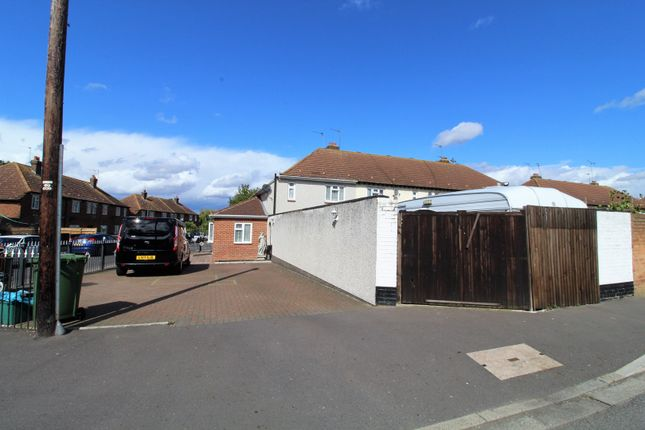 Thumbnail End terrace house for sale in Hazel Drive, Erith