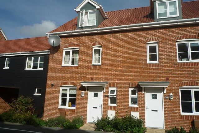 Thumbnail Town house to rent in Bostock Road, Chichester