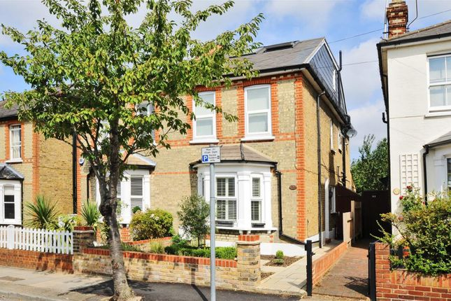 Thumbnail 5 bed semi-detached house to rent in Wyndham Road, Kingston Upon Thames
