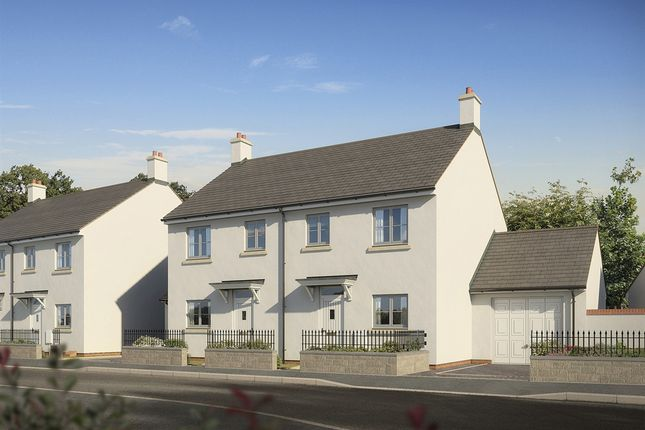 "Thumbnail Terraced house for sale in ""The Cothi"" at Darcy Business Park, Llandarcy, Neath"