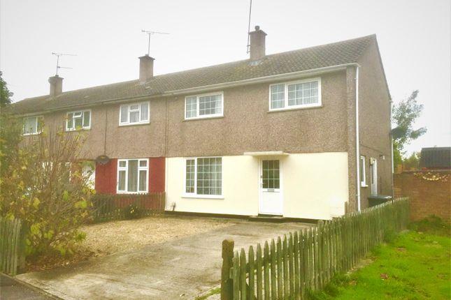 Thumbnail End terrace house to rent in Packenham Road, Swindon
