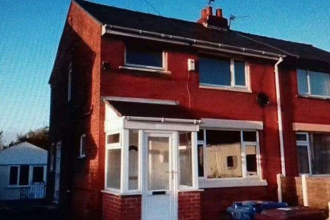 Thumbnail Town house to rent in Collins Road, Preston