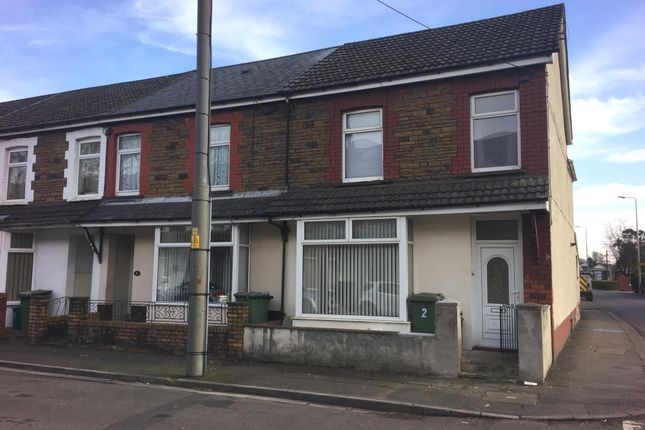 Thumbnail End terrace house for sale in Tudor Street, Rhydyfelin, Pontypridd