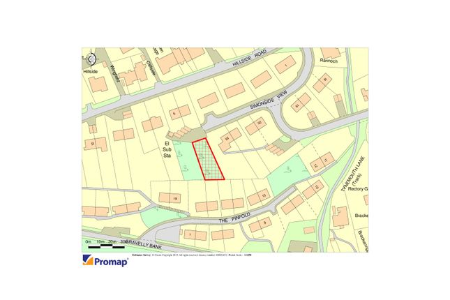 Thumbnail Land for sale in Simonside View, Rothbury