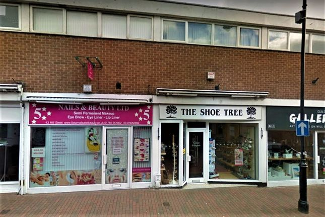 Thumbnail Retail premises to let in 44 Mill Street, Stafford, Staffordshire