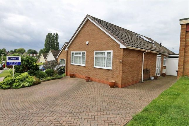 Thumbnail Detached bungalow for sale in Barnack Avenue, Styvechale Grange, Coventry
