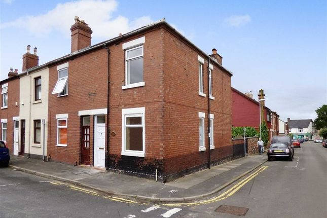 Thumbnail End terrace house to rent in Watson Street, Hartshill, Stoke-On-Trent