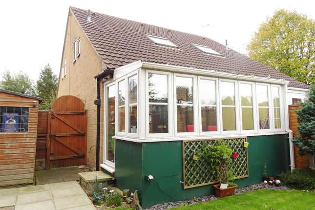 Thumbnail Terraced house for sale in Arbury Dale, Shepshed, Loughborough