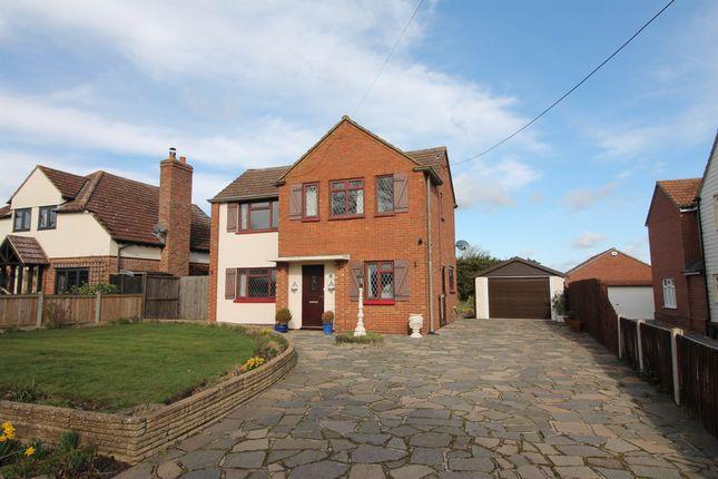 Thumbnail Detached house for sale in Abberton Road, Layer-De-La-Haye, Colchester