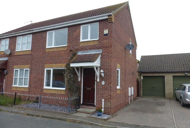 Thumbnail Semi-detached house to rent in El Alamein Way, Bradwell, Great Yarmouth