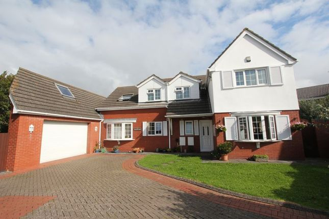 Thumbnail Detached house for sale in Fonmon Road, Rhoose, Barry