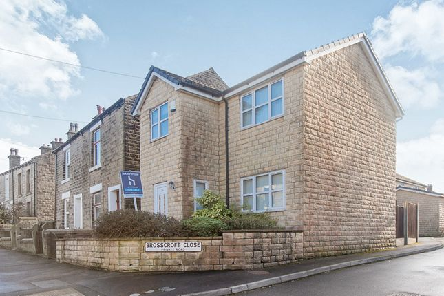 Thumbnail Detached house for sale in Brosscroft, Hadfield, Glossop