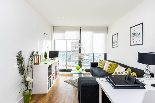 Thumbnail Flat to rent in Central Apartments, 455 High Road, Wembley