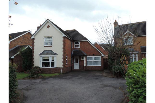 Thumbnail Detached house for sale in Sandown Drive, Chippenham