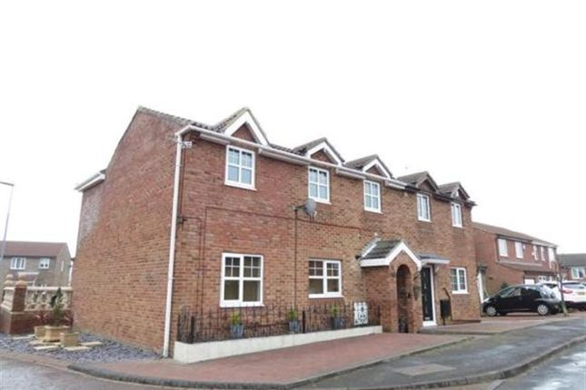 Thumbnail Semi-detached house for sale in Brougham Court, Peterlee, Durham