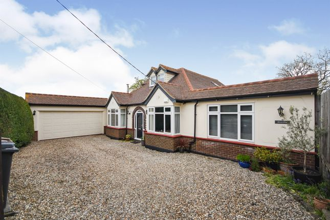 Thumbnail Detached bungalow for sale in Private Road, Galleywood, Chelmsford
