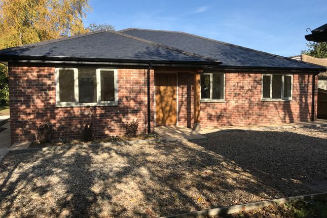 Thumbnail Detached bungalow for sale in Heath Road, Woolpit
