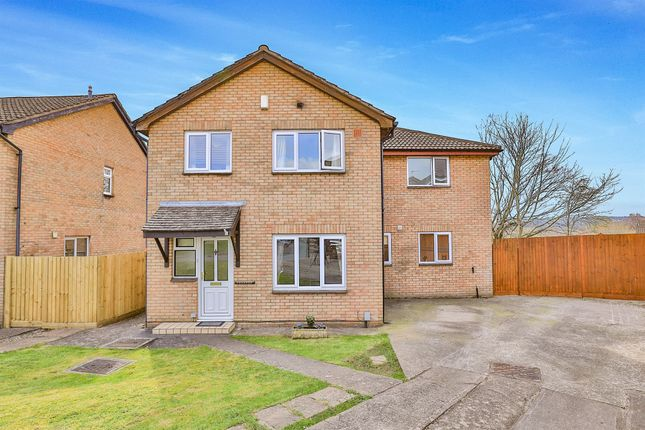 Thumbnail Detached house for sale in Edward Clarke Close, Danescourt, Cardiff
