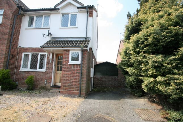 Thumbnail Semi-detached house to rent in Albrighton Croft, Highwoods, Colchester