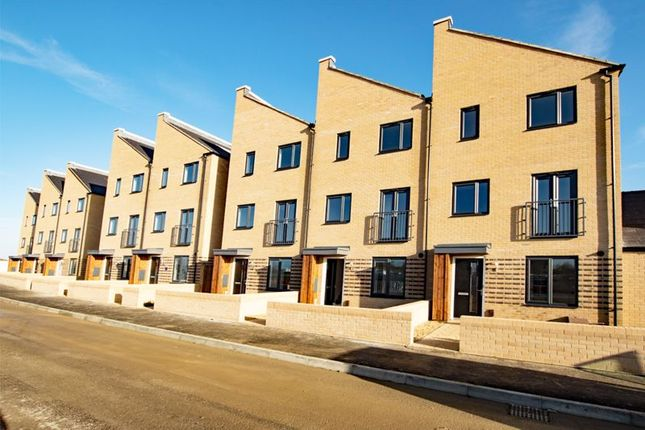 Thumbnail Town house to rent in Claudius Walk, Northstowe