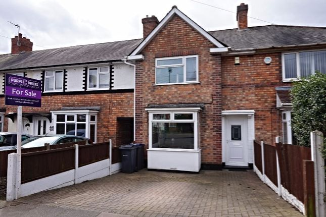 Thumbnail Terraced house for sale in Caversham Road, Birmingham