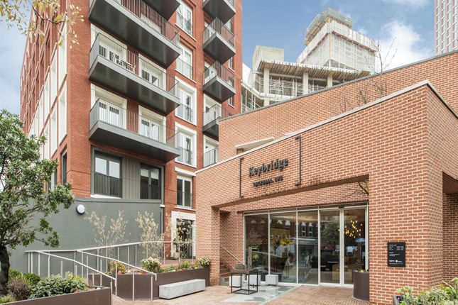 Thumbnail Flat for sale in Keybridge Lofts, 80 Miles Street, Nine Elms, London