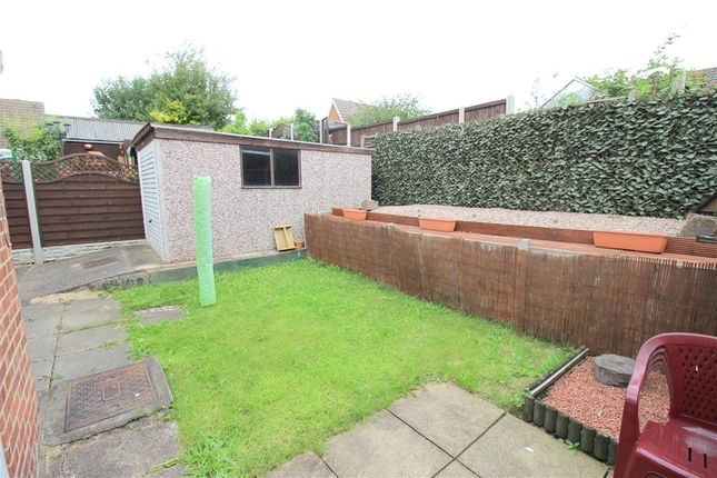 Garden of Ayr Close, Spondon, Derby DE21