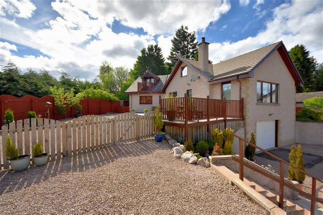 Thumbnail Detached house for sale in Rhuarden Court, Grantown-On-Spey