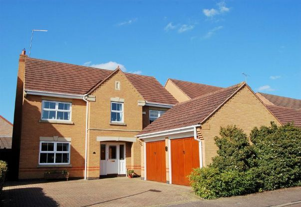 Thumbnail Detached house for sale in Lynmore Close, Hunsbury Meadows, Northampton