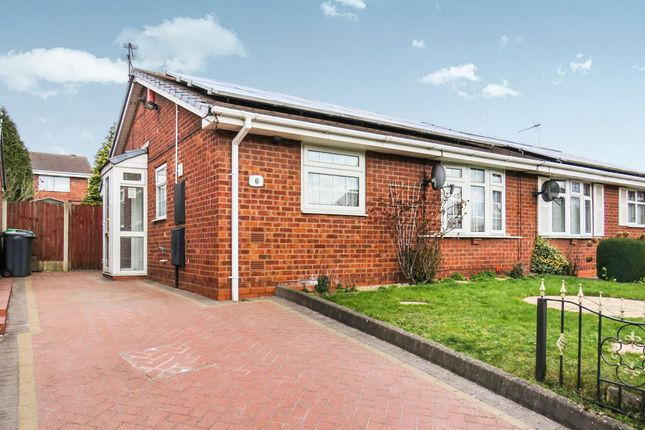 Thumbnail Semi-detached bungalow for sale in Russell Close, Tividale, Oldbury