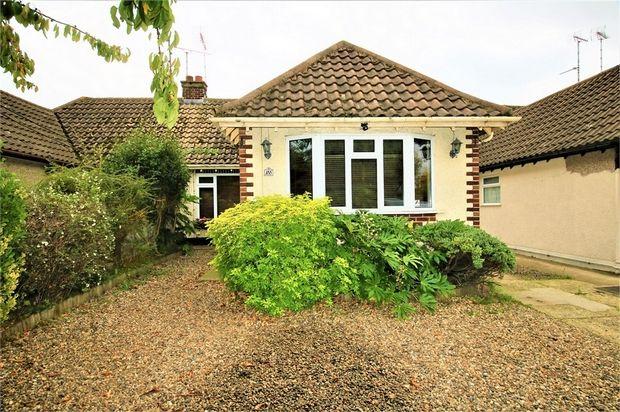Thumbnail Semi-detached bungalow for sale in London Road, Benfleet, Essex