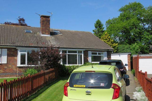 Thumbnail Bungalow to rent in Horseman Avenue, Copmanthorpe, York