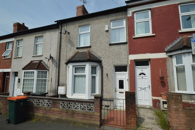 Thumbnail Terraced house for sale in Carisbrooke Road, Newport