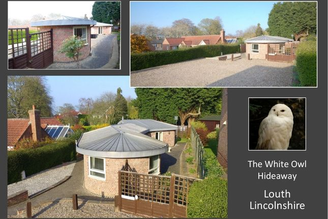 Thumbnail Detached bungalow for sale in The Hideaway, Little Crowtree Lane, Louth
