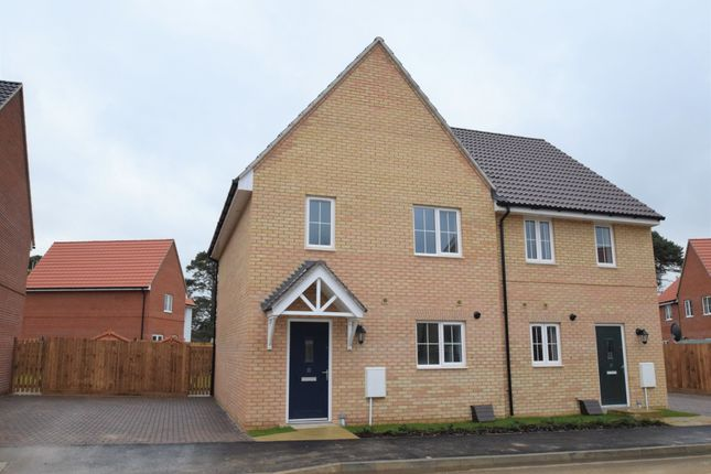 3 bed semi-detached house for sale in Dandelion Crescent, Red Lodge, Bury St. Edmunds