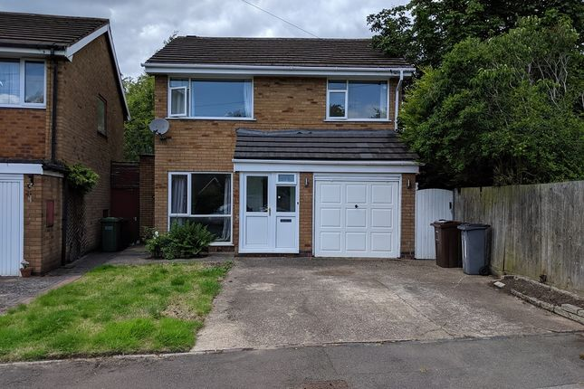 Thumbnail Detached house for sale in Foxcote Close, Shirley, Solihull