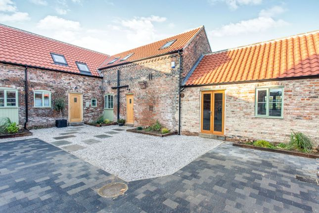Thumbnail Barn conversion for sale in Fir Tree Lane, Thorpe Willoughby