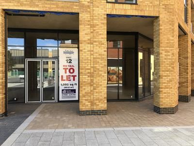 Thumbnail Retail premises to let in The Square At Brooklands, Unit 12, Fen Street, Brooklands, Milton Keynes