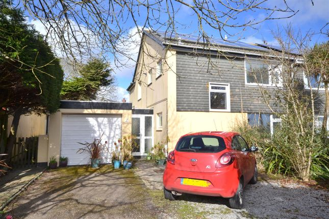 Thumbnail Semi-detached house for sale in Tenderah Road, Helston