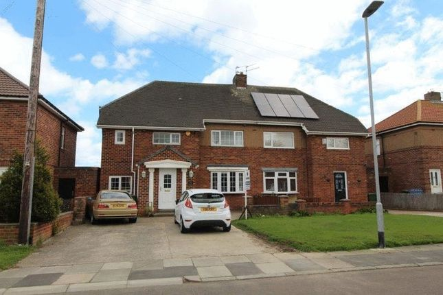 Thumbnail Semi-detached house for sale in Seaburn View, New Hartley, Whitley Bay