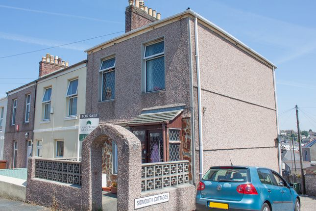 Thumbnail End terrace house for sale in Sidmouth Cottages, Mutley, Plymouth