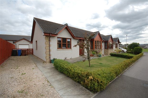 Thumbnail Semi-detached bungalow for sale in Barmuckity Lane, Elgin