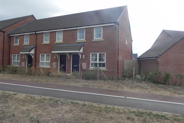 Thumbnail End terrace house for sale in Plot 18, 36 Port Stanley Close, Norton Fitzwarren, Taunton