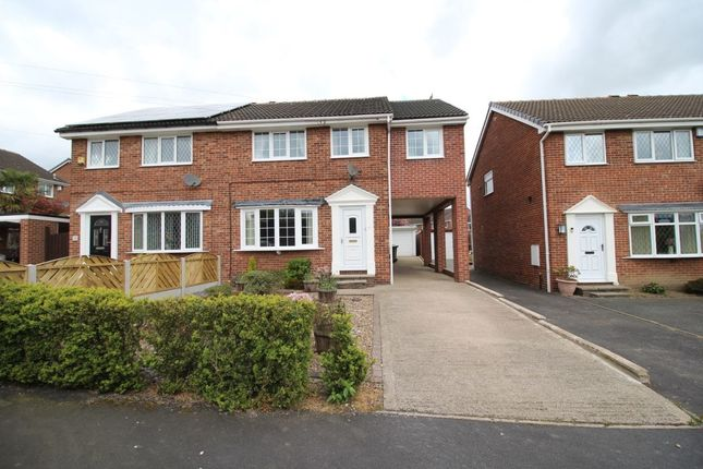 Thumbnail Semi-detached house to rent in Whitley Spring Crescent, Ossett