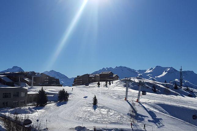 Views of Alpe D'huez, Isere, France