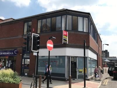 Office to let in Station Street, Burton Upon Trent, Staffordshire