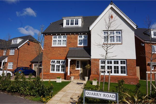 Thumbnail Detached house for sale in Quarry Road, West Malling